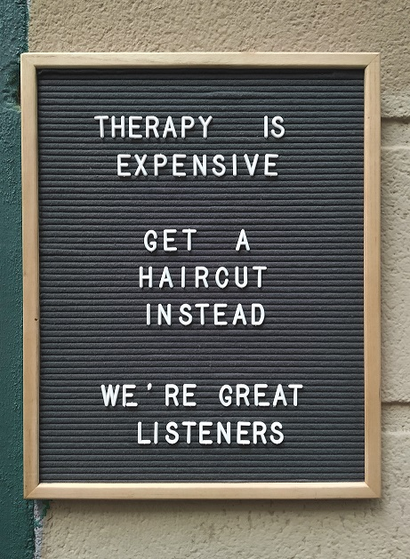 Просто разговор ли е терапията?